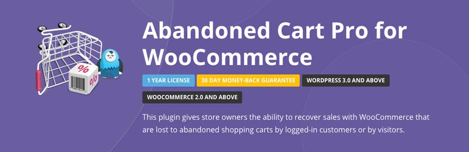 Woocommerce Abandoned Cart Pro