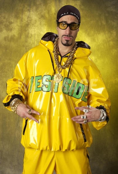 Big up yourself - Ali G posing