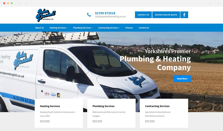 Paskell Plumbing Homepage
