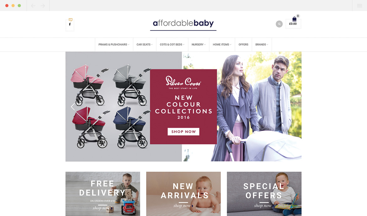 Affordable Baby Homepage