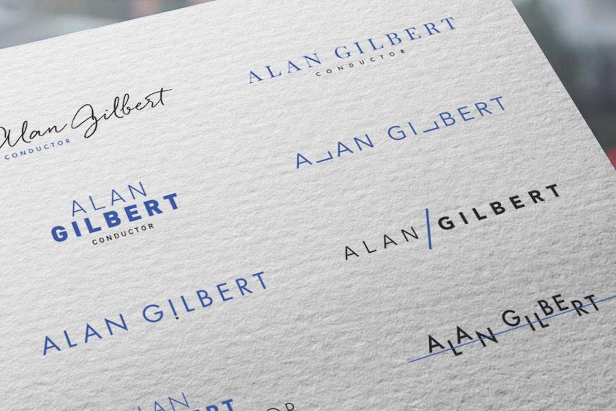 Alan Gilbert Branding