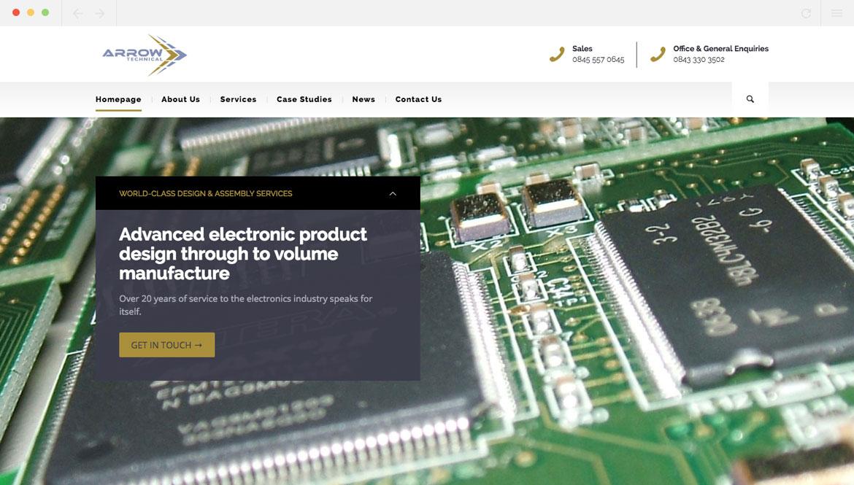 Arrow Technical Homepage