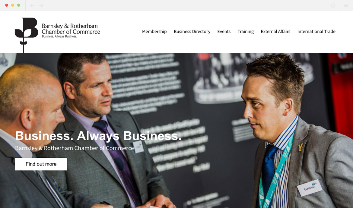 BR Chamber Homepage