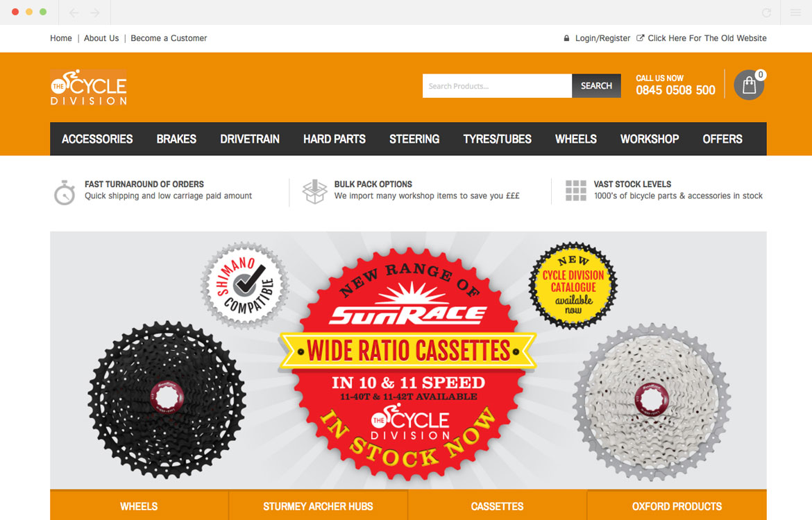 Cycle Division Homepage
