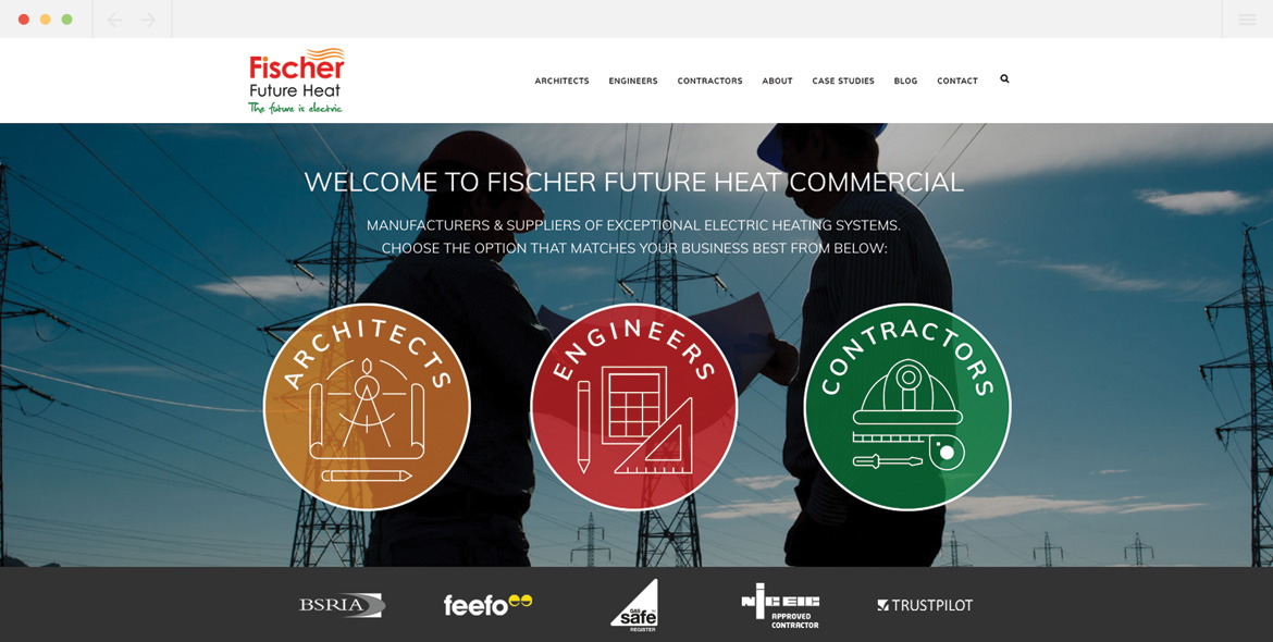 Fischer Commercial Homepage