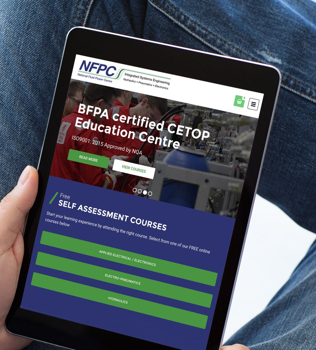 NFPC Rotherham Web Design