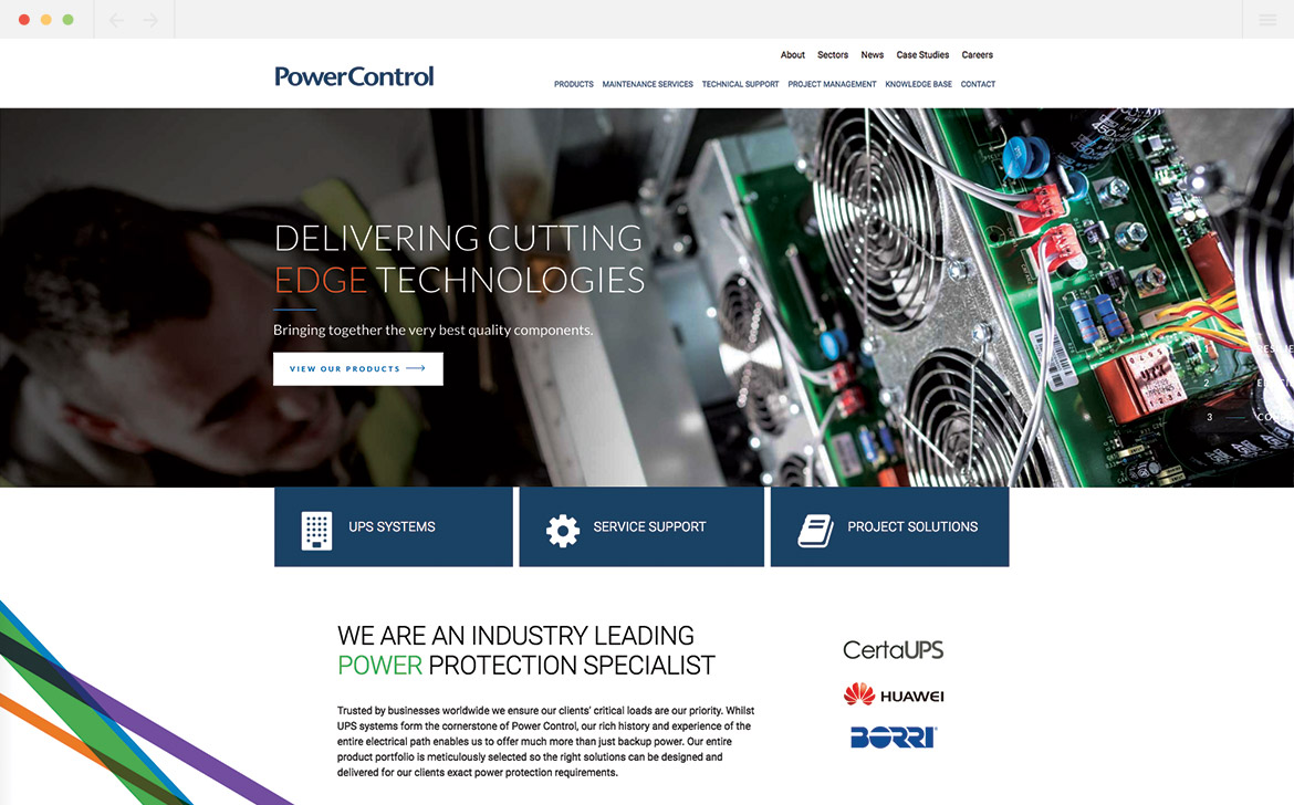 Power Control Homepage