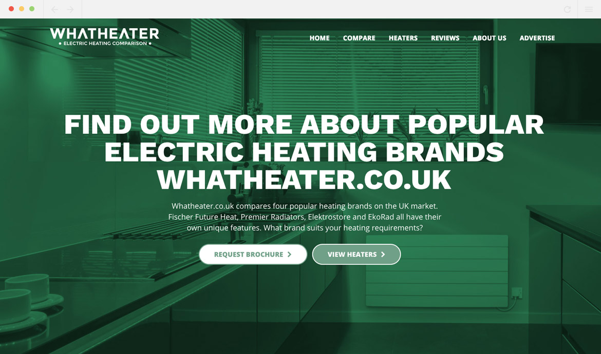 What Heater Homepage