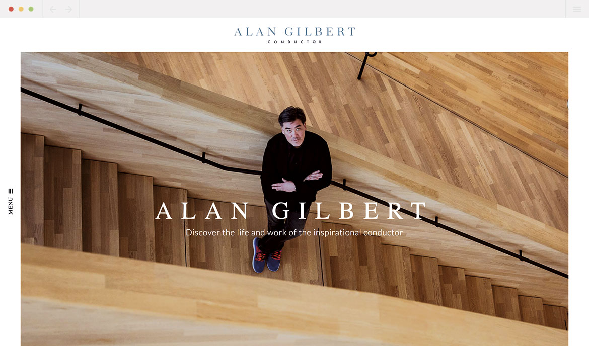 Alan Gilbert Homepage