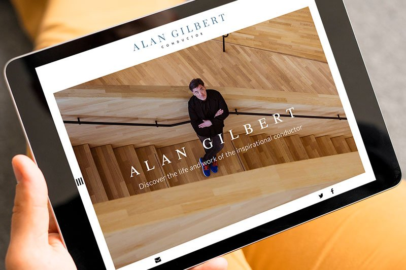 Alan Gilbert Web Design