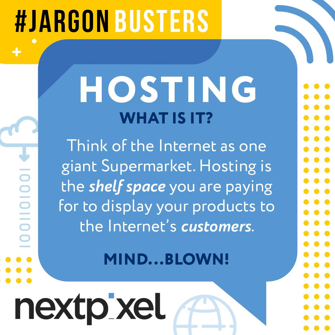Next Pixels jargon busters number 1